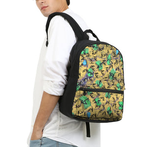 Cash Small Canvas Backpack