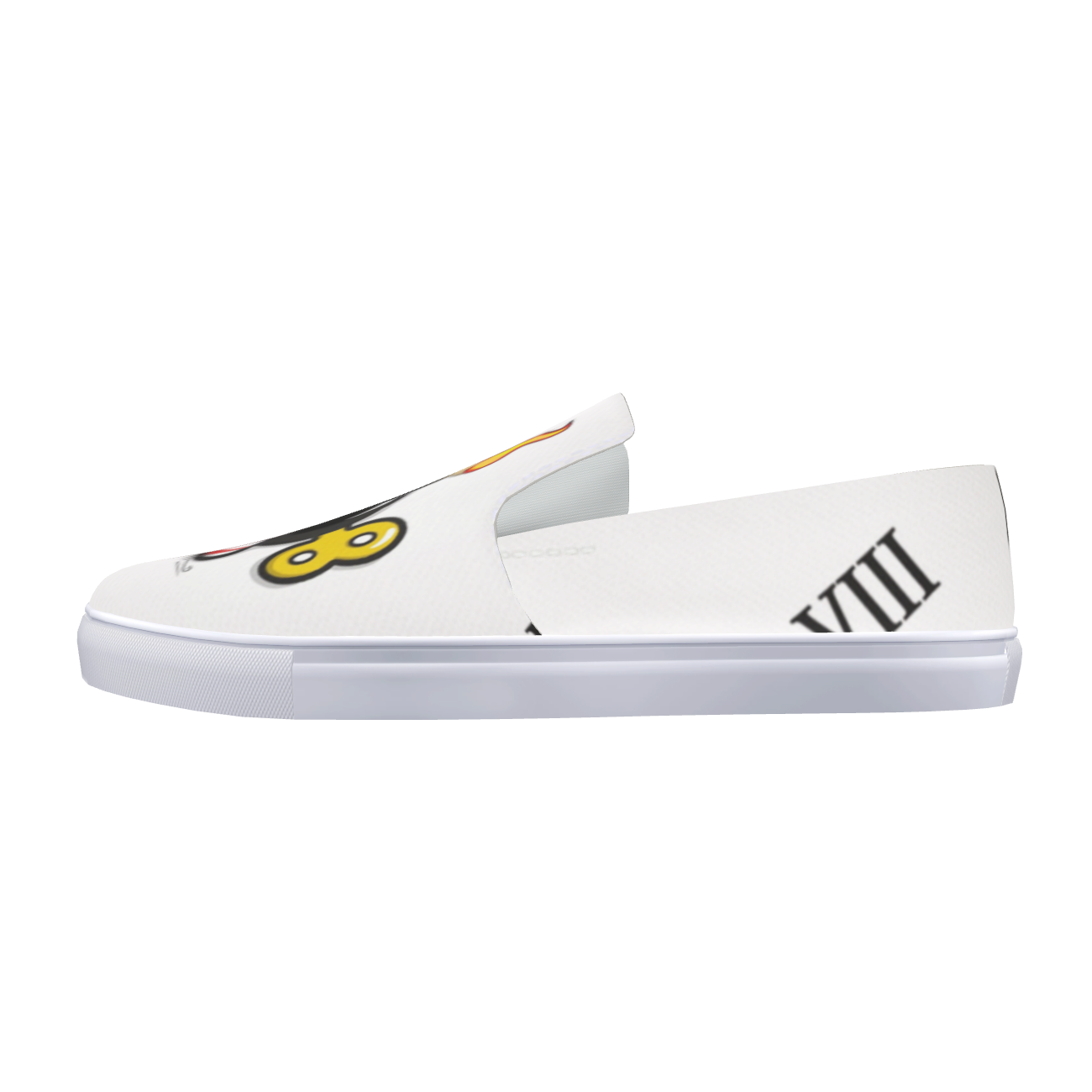 TIME BOMB Slip-On Canvas Shoe