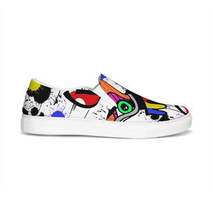 The Eye Print Slip-On Canvas Shoe
