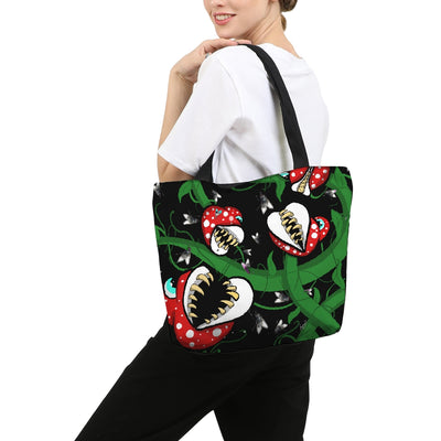 FlyTrap Canvas Zip Tote