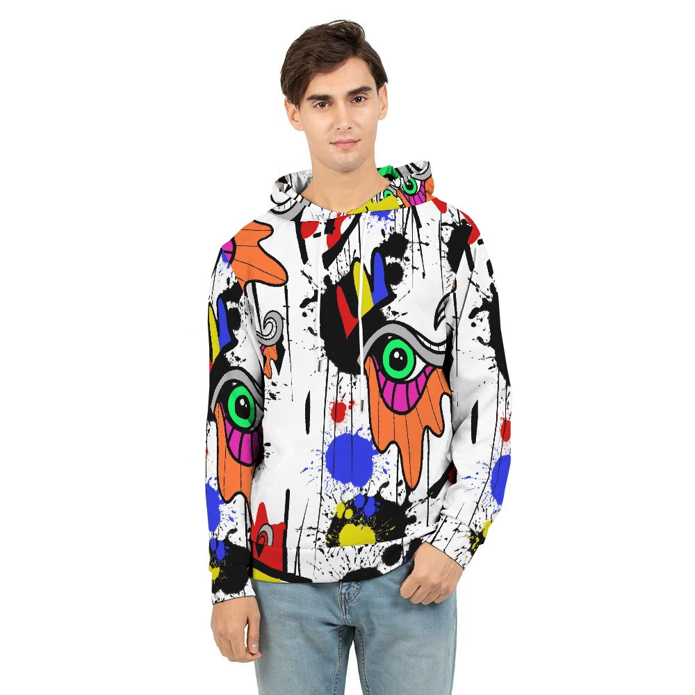 The Eye Print Men's Hoodie