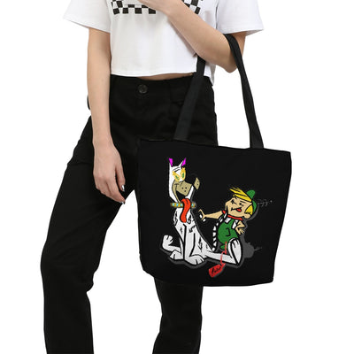 Fake It Canvas Zip Tote