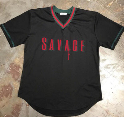 Savage AF Baseball Jersey 3 Colors Available