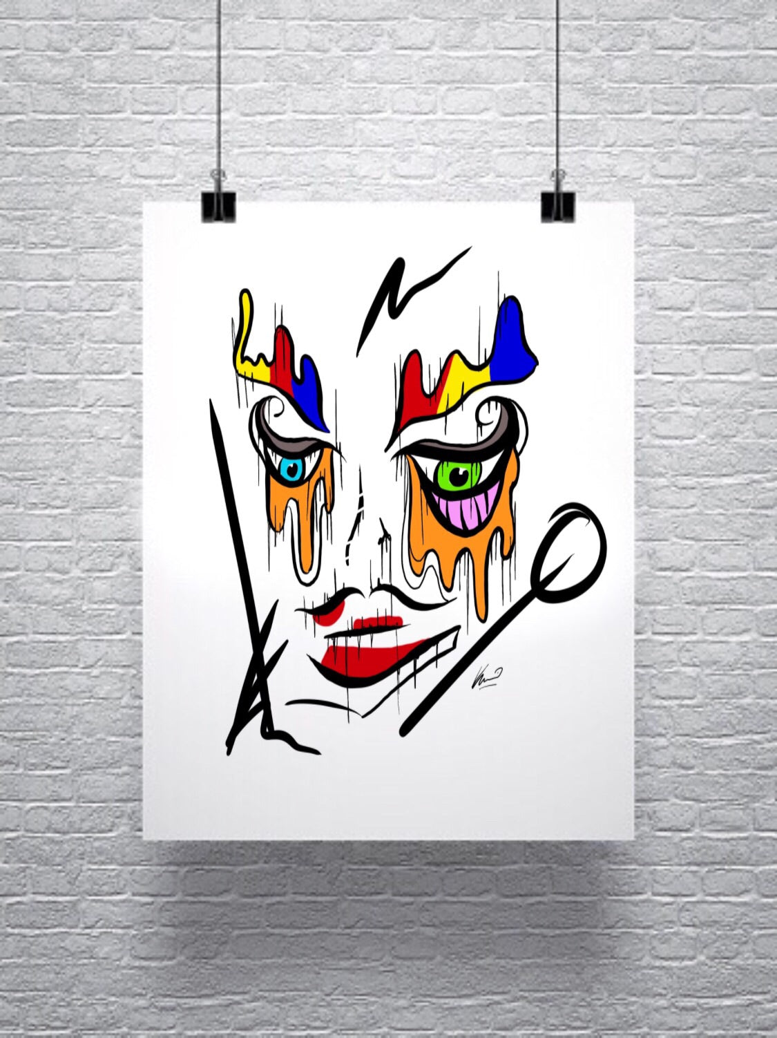 "K_o Canvas Prints ""The Dame"""