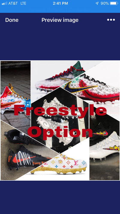 Freestyle Football Cleats