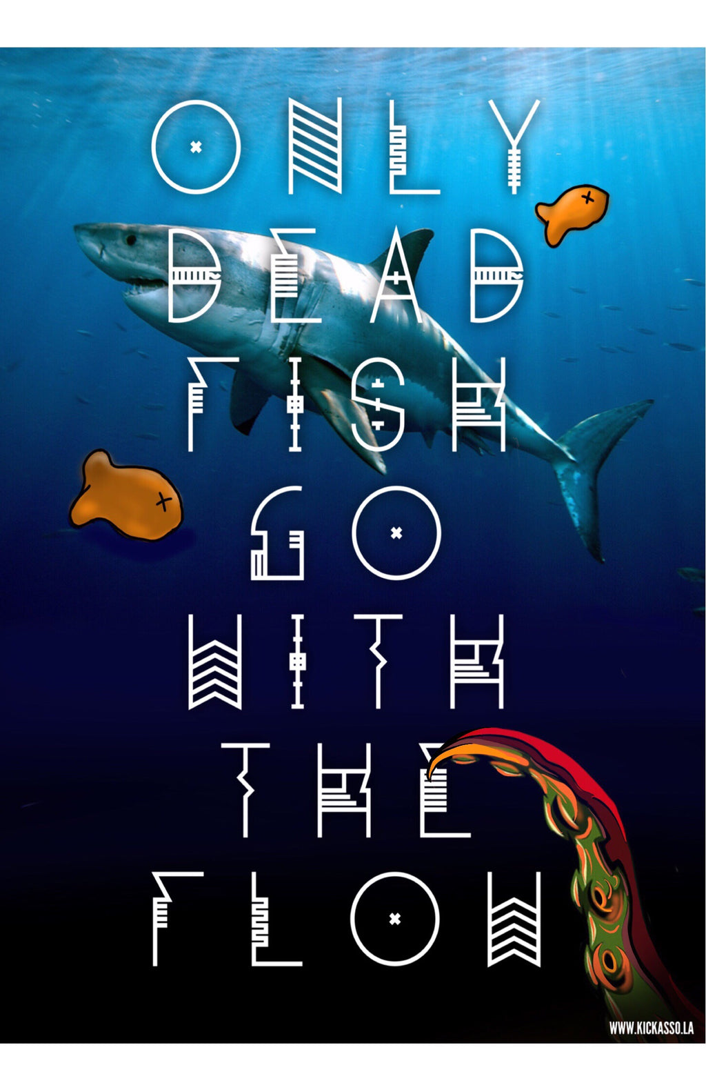 Only Dead Fish Poster