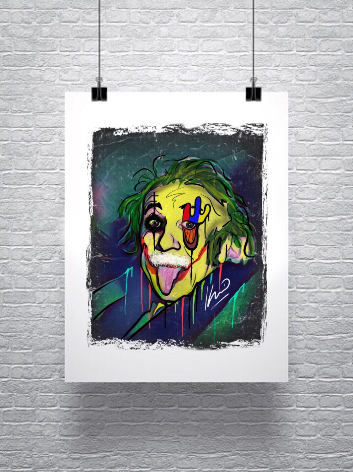 "K_o Canvas Prints ""The Genius"""
