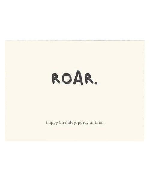 Birthday Roar