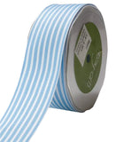 Blue Striped Ribbon