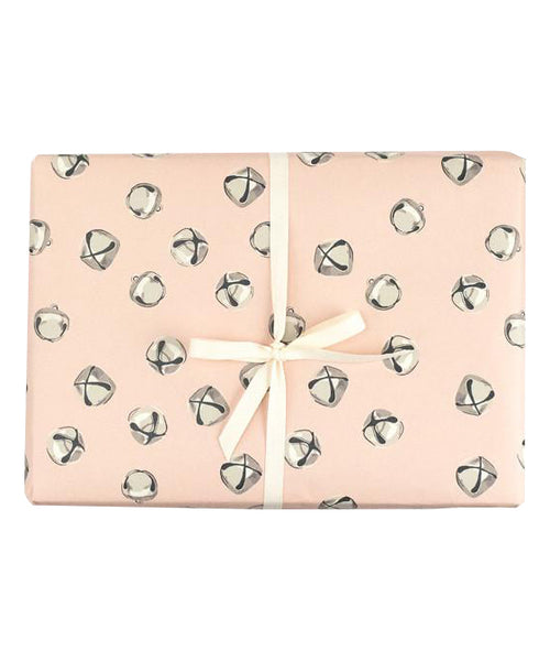 Jingle Bell Blush Gift Wrap