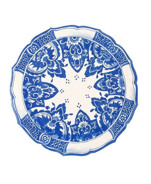 China Blue Die-Cut Placemat