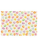 Conversation Hearts Placemat