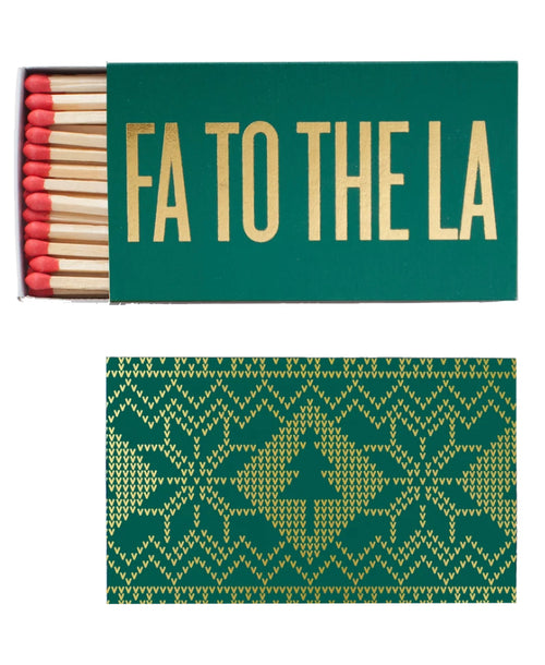 Fa To The La Matchbox