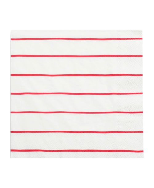 Frenchie Napkins - Red