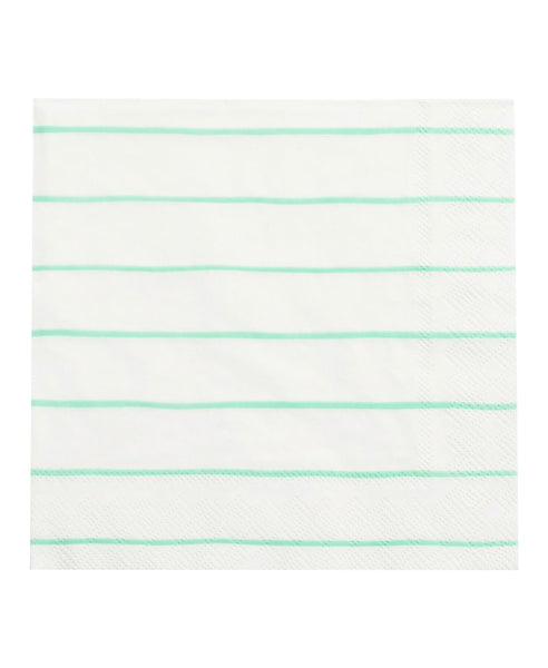 Frenchie Napkins - Mint