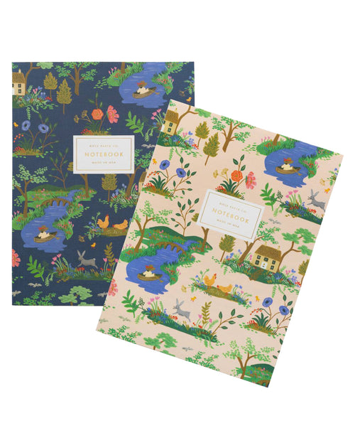 Garden Toile Notebook Set