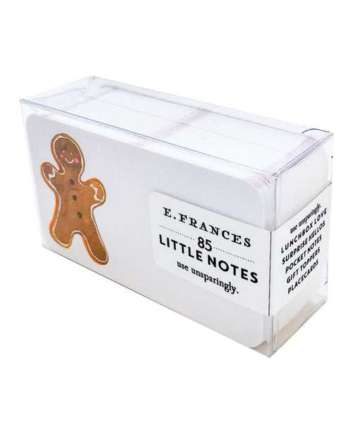 Gingerbread Little Notes Pack