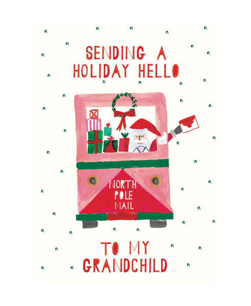 Holiday Hello to Grandchild
