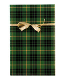 Green Plaid Gift Wrap