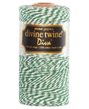 Twine - Green and White