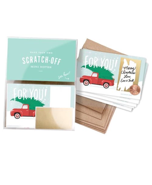 Holiday Scratch-Off Mini Notes