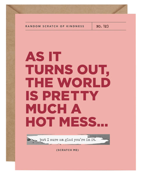 Hot Mess Scratch-Off