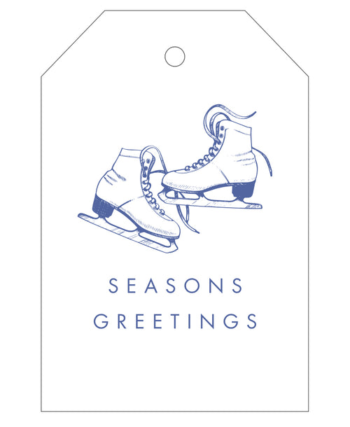 2020 Exclusive - Ice Skates Gift Tags