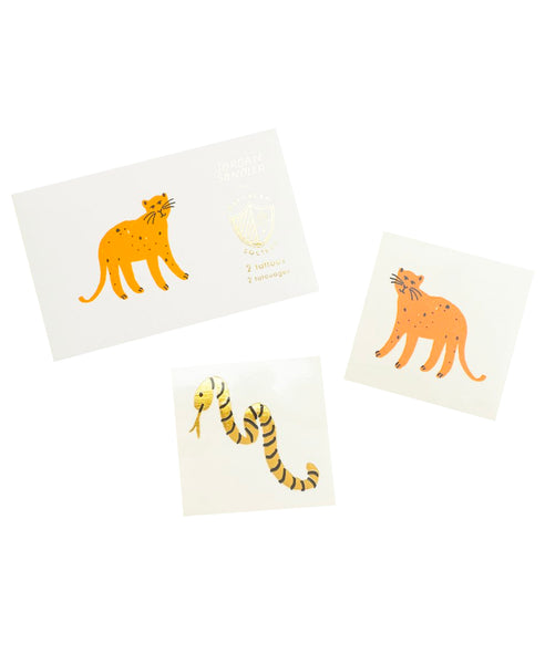 Into the Wild Temporary Tattoos