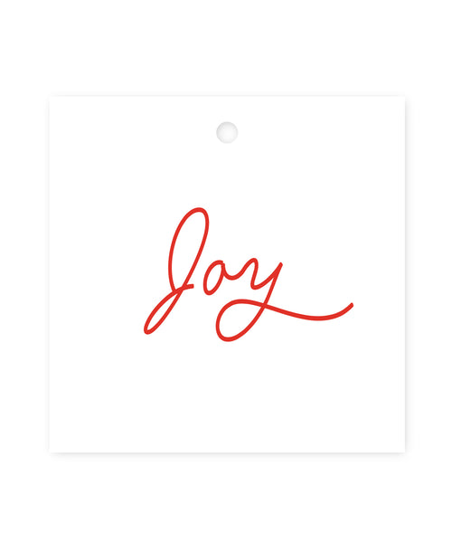 Exclusive Joy Gift Tags