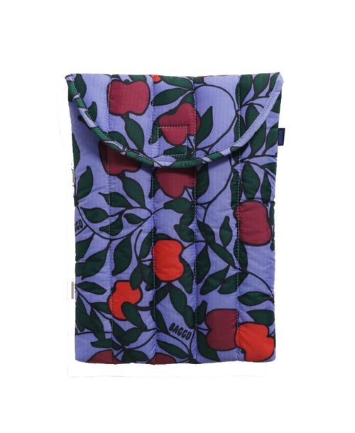 "Puffy Laptop Sleeve 13"" - Apple Tree"