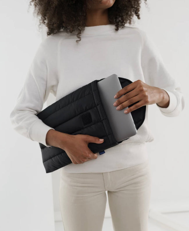 "Puffy Laptop Sleeve 13"" - Black"