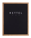 Large Black Letter Board