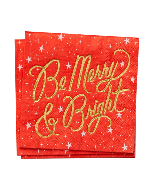 Be Merry and Bright Small Napkins