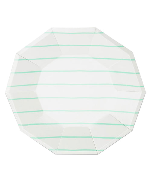 Frenchie Large Plates - Mint