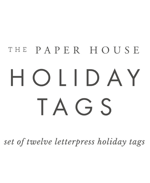 2020 Exclusive The Paper House Gift Tags - Mixed Set