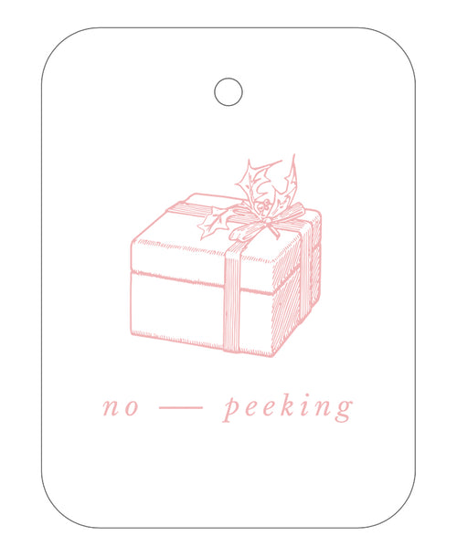 2020 Exclusive - No Peeking Gift Tags