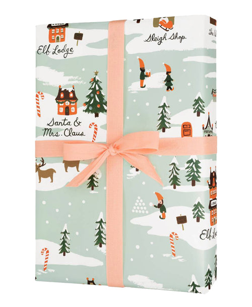 North Pole Gift Wrap