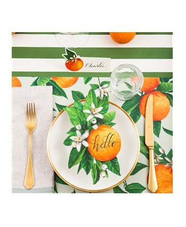 Orange Orchard Place Cards