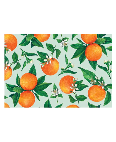 Orange Orchard Placemat