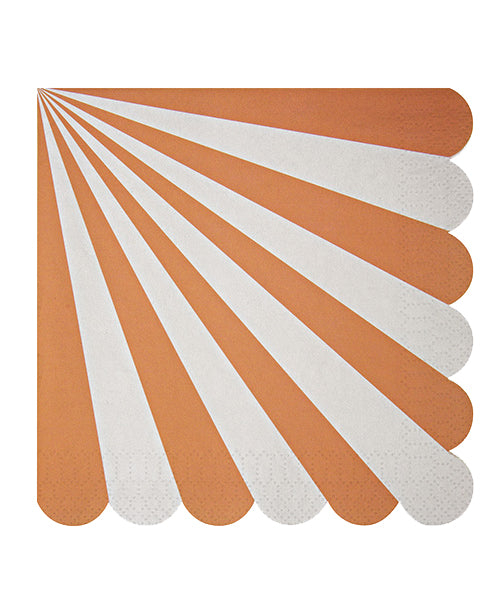Stripe Napkins - Orange