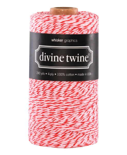 Twine - Red & Pink