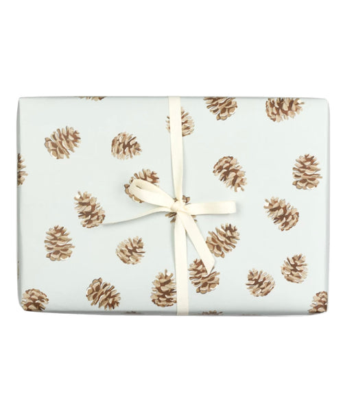 Pinecone Gift Wrap