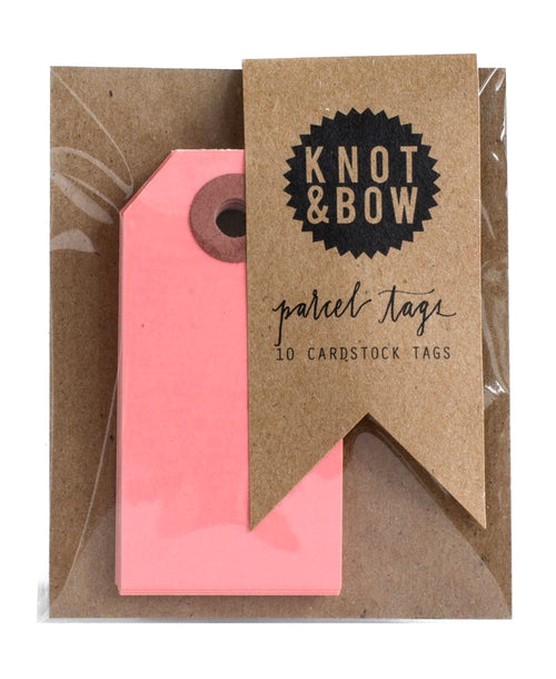 Parcel Tags - Pink