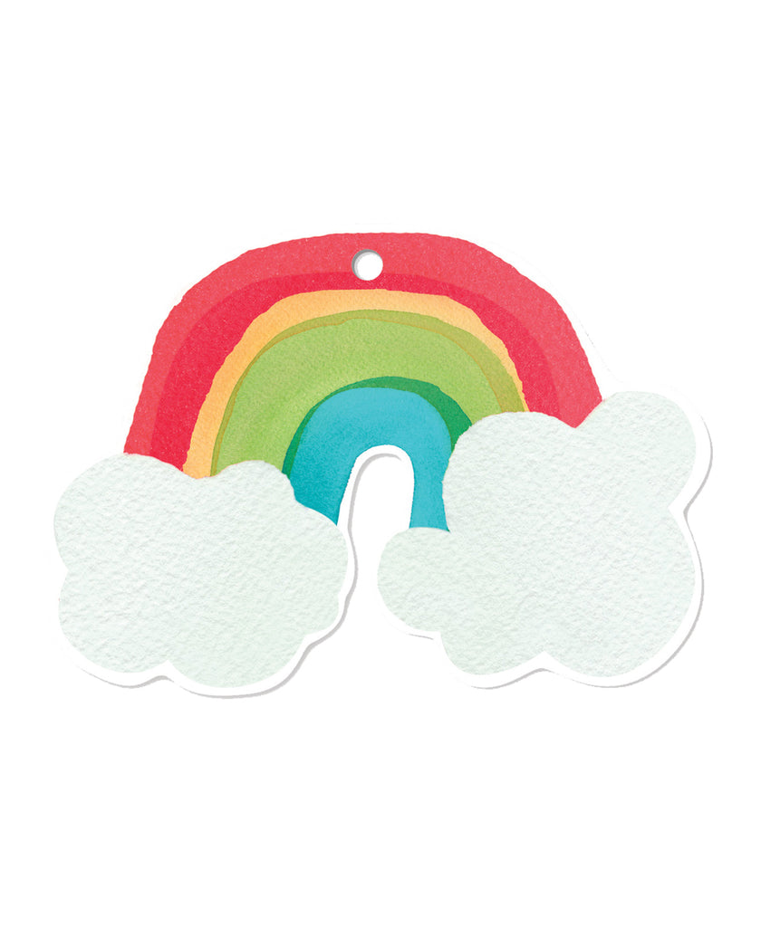 rainbow gift tags the paper house
