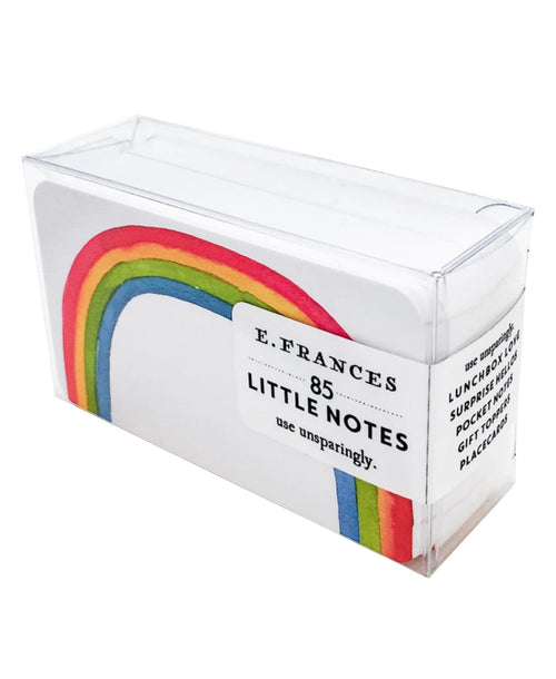 Rainbow Little Notes Pack