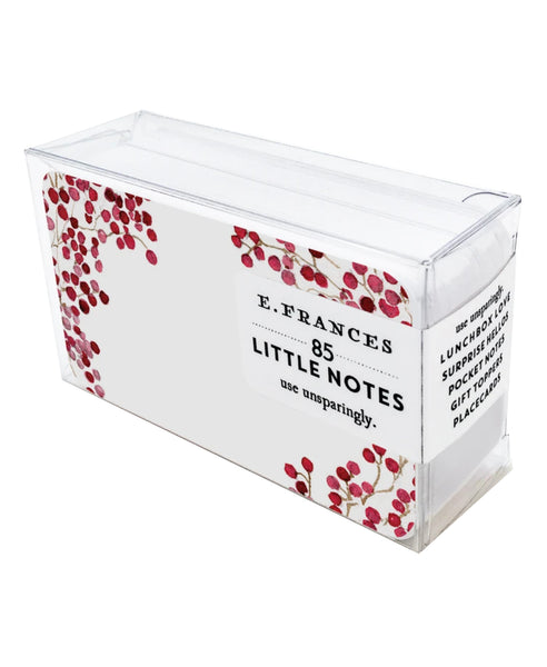 Red Berries Little Notes Pack