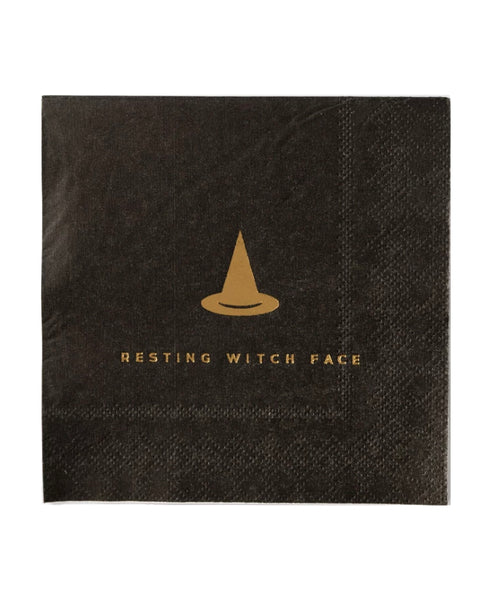 Black Halloween Napkins