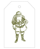 2020 Exclusive - Santa with Bag Gift Tags