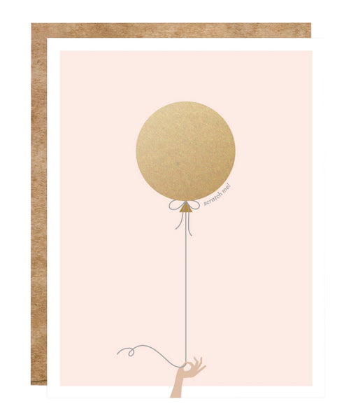Scratch-Off Balloon