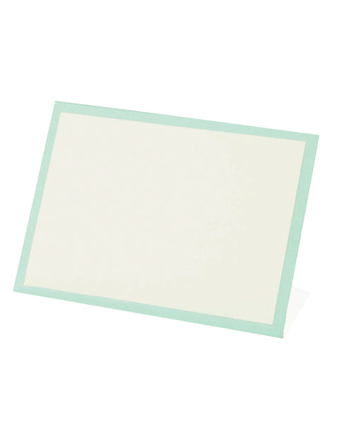 Frame Place Cards - Seafoam (Bottom Fold)